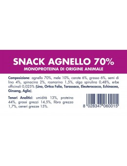 LAMB SNACK (10 pieces x 80g)