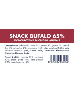 BUFFALO SNACK (10 pieces x...