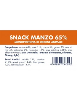 BEEF SNACK (10 pieces x 80g)