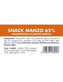 SNACK MANZO (10 Pezzi x 80g)