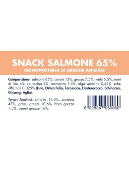 SALMON SNACK (10 pieces x 80g)