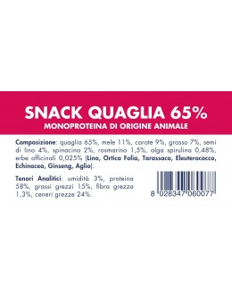 QUAIL SNACK (10 pieces x 80g)