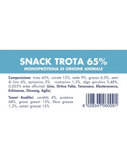 TROUT SNACK (10 pieces x 80g)